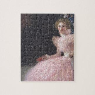 Gustav Klimt - Bildnis Sonja Knips Portrait Jigsaw Puzzle