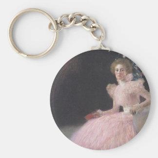 Gustav Klimt - Bildnis Sonja Knips Portrait Key Ring