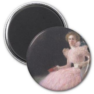 Gustav Klimt - Bildnis Sonja Knips Portrait Magnet