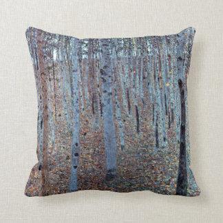 Gustav Klimt Buchenwald Beech Forest Cushion
