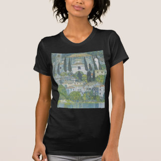 Gustav Klimt - Church in Cassone Art work T-Shirt