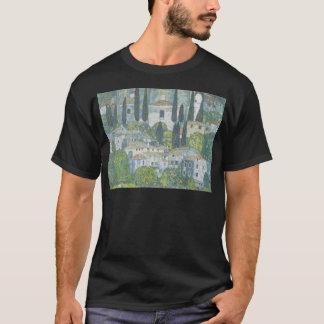 Gustav Klimt - Church in Cassone Art work T-Shirt