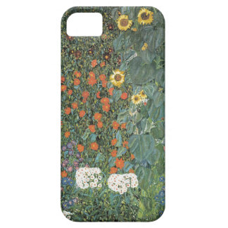 Gustav Klimt - Country Garden Sunflowers Flowers Barely There iPhone 5 Case