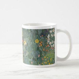 Gustav Klimt - Country Garden Sunflowers Flowers Coffee Mug