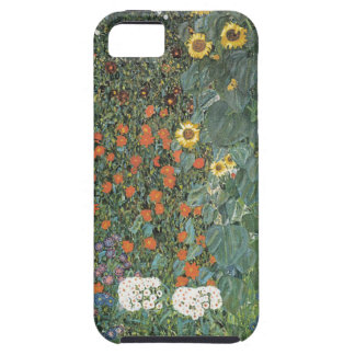 Gustav Klimt - Country Garden Sunflowers Flowers iPhone 5 Case