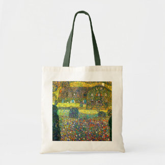 Gustav Klimt: Country House at the Attersee Budget Tote Bag