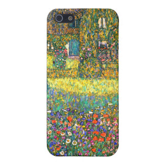 Gustav Klimt: Country House at the Attersee iPhone 5/5S Covers