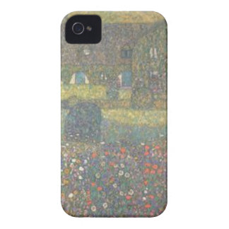 Gustav Klimt - Country House by the Attersee Art iPhone 4 Covers
