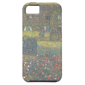 Gustav Klimt - Country House by the Attersee Art iPhone 5 Covers