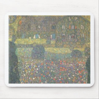 Gustav Klimt - Country House by the Attersee Art Mouse Pad