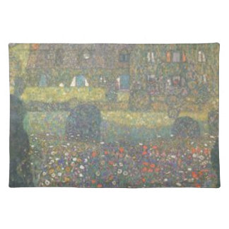 Gustav Klimt - Country House by the Attersee Art Placemat