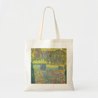 Gustav Klimt Country House by the Attersee Budget Tote Bag