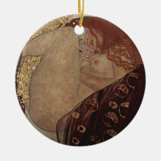 Gustav Klimt  - Danae - Beautiful Artwork Ceramic Ornament