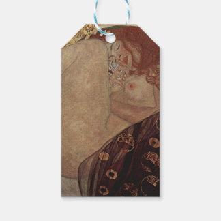 Gustav Klimt  - Danae - Beautiful Artwork Gift Tags