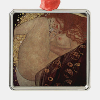 Gustav Klimt  - Danae - Beautiful Artwork Metal Ornament