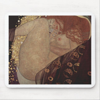 Gustav Klimt  - Danae - Beautiful Artwork Mouse Pad