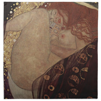 Gustav Klimt  - Danae - Beautiful Artwork Napkin