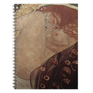 Gustav Klimt  - Danae - Beautiful Artwork Notebook