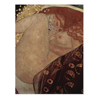 Gustav Klimt  - Danae - Beautiful Artwork Postcard