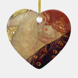 "Gustav Klimt, ""Danae"" Ceramic Ornament"