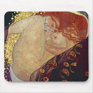 "Gustav Klimt, ""Danae"" Mouse Pad"