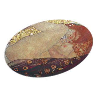 """Gustav Klimt, """"Danae"""" Plate"""