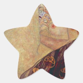 "Gustav Klimt, ""Danae"" Star Sticker"