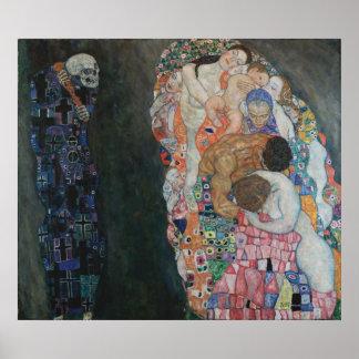 Gustav Klimt - Death and Life, 1910 Poster
