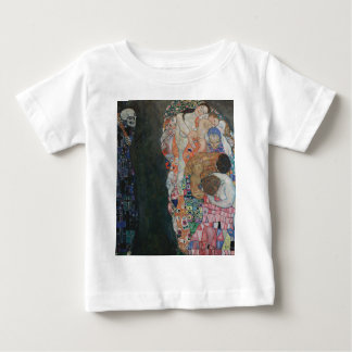 Gustav Klimt - Death and Life Art Work Baby T-Shirt