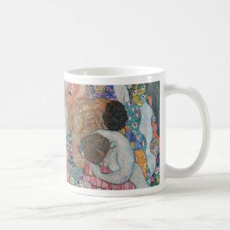 Gustav Klimt - Death and Life Art Work Coffee Mug