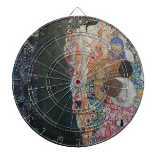 Gustav Klimt - Death and Life Art Work Dartboard