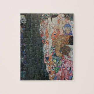 Gustav Klimt - Death and Life Art Work Jigsaw Puzzle