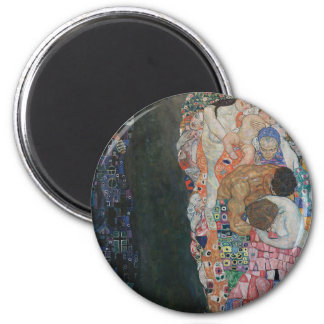 Gustav Klimt - Death and Life Art Work Magnet