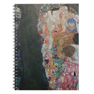 Gustav Klimt - Death and Life Art Work Notebook