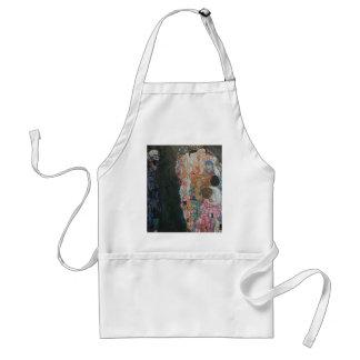 Gustav Klimt - Death and Life Art Work Standard Apron