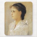 Gustav Klimt Emilie Floge Mouse Pad