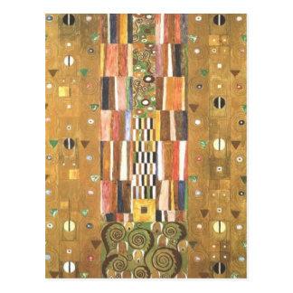 Gustav Klimt ~ Entwurf für den Wandfries Postcard