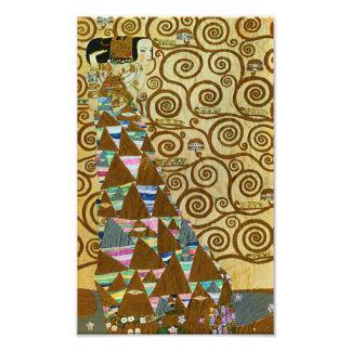 Gustav Klimt Expectation Print Photograph