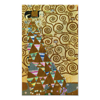 Gustav Klimt Expectation Print Photographic Print