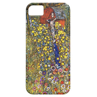 Gustav Klimt  Farm Garden with Crucifix iPhone 5 Cover