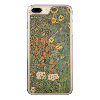 Gustav Klimt Farm Garden with Sunflowers GalleryHD Carved iPhone 8 Plus/7 Plus Case