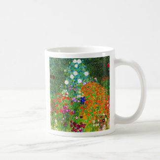 "Gustav Klimt, ""Farmhouse garden"" Coffee Mug"