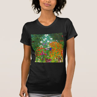 "Gustav Klimt, ""Farmhouse garden"" T-Shirt"