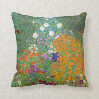 Gustav Klimt: Flower Garden Cushion