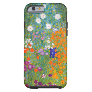 Gustav Klimt: Flower Garden Tough iPhone 6 Case
