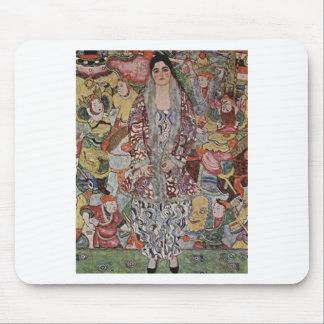Gustav Klimt - Fredericke Maria Beer Art Mouse Pad