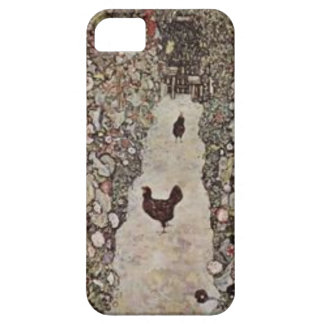 Gustav Klimt - Garden with Roosters iPhone 5 Covers