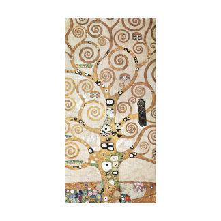 Gustav Klimt Golden Tree of Life with Bird Canvas Print