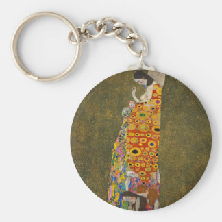 Gustav Klimt - Hope II - Beautiful Artwork Key Ring
