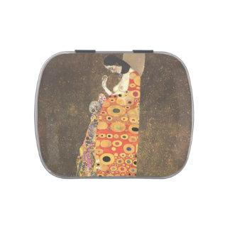 Gustav Klimt- Hope II Jelly Belly Candy Tins